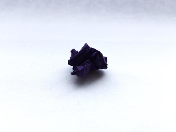 Lampada Origami Di Edward Chew : Arte: gli origami stropicciati di keiko mori kilo osso magazine